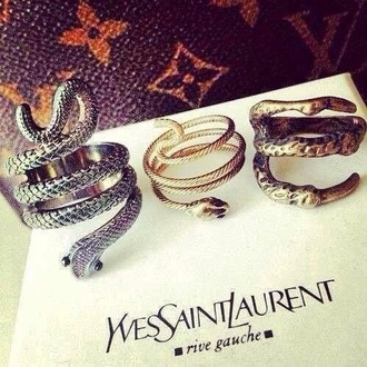 jewels ysl rings snake claw ring ring