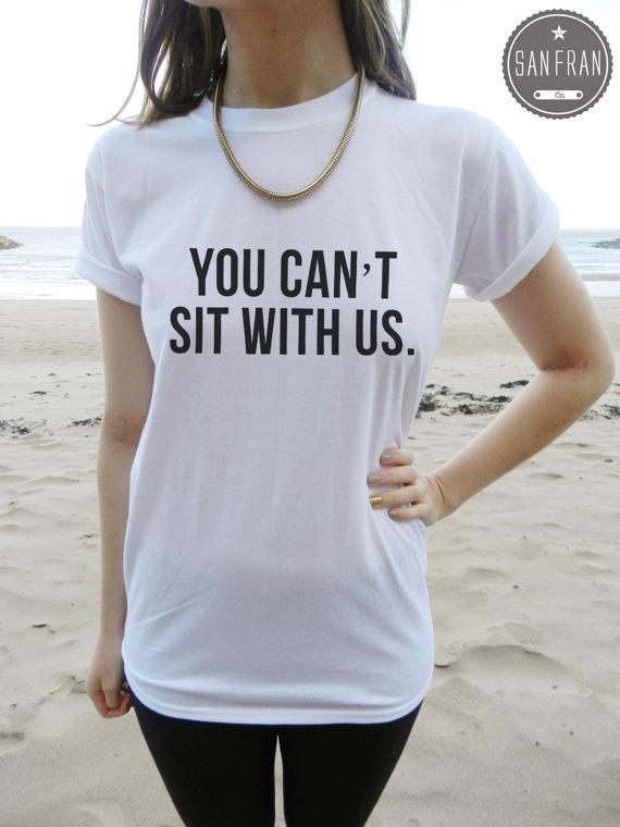 Vous ne pouvez pas s'asseoir avec nous les filles par sanfranco