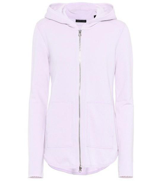 ATM Anthony Thomas Melillo hoodie purple sweater