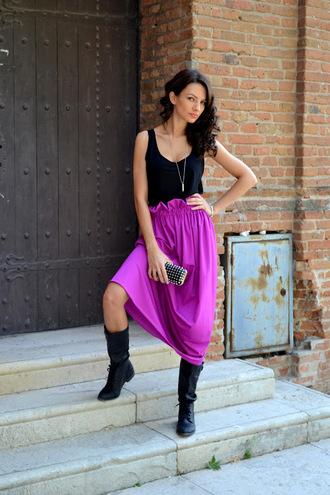 my silk fairytale t-shirt skirt shoes bag jewels