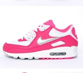 shoes,sneakers,nike,nike air,pink,white