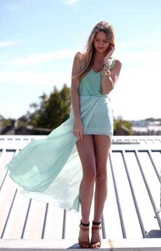 dress high-low dresses mint high low