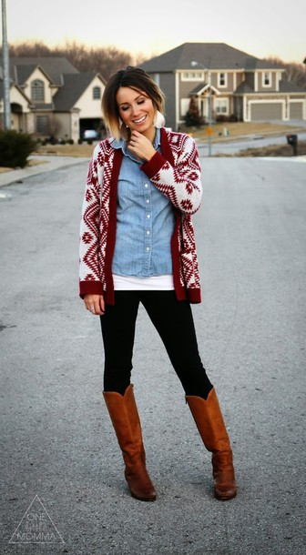 Sweater: white, red, light blue, black, brown, cardigan, t-shirt ...