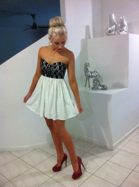 Dress Lace Dress White Dress Prom Dress Black Dress Teal Dress