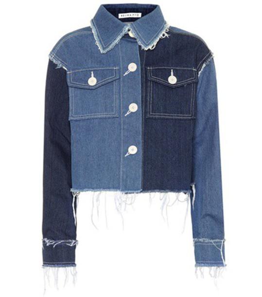 Rejina Pyo jacket denim jacket denim blue