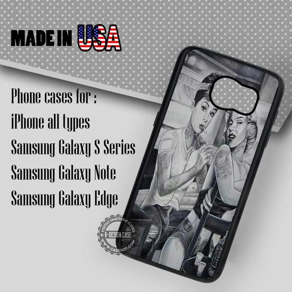 Samsung S7 Case - Tattoo Retro- iPhone Case #SamsungS7Case #mlyn #adh #yn