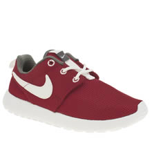 lfplak Red Nike Roshe Run Junior Trainersl | schuh