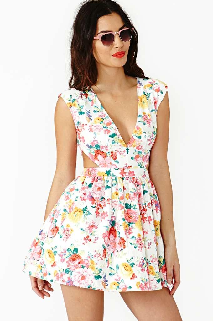 Fresh cut dress at nasty gal