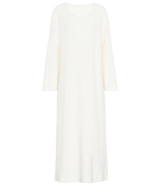 The Row dress midi dress midi white