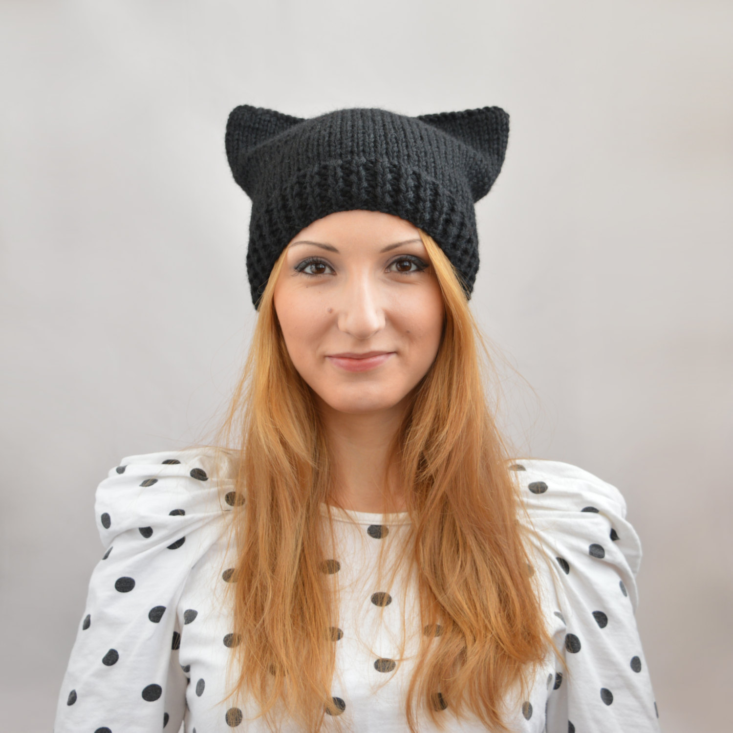 bear ear hat knitting pattern jumpers