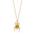 Gold Plated Dor Beetle Necklace