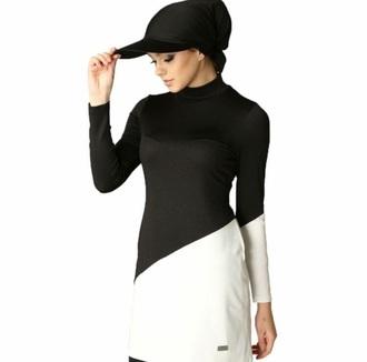 hat black for swimming swimwear