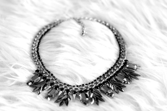 shopping jewels necklace silver chain