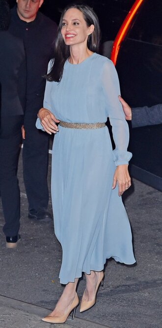 dress midi dress angelina jolie