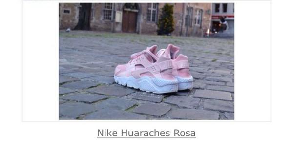 Nike Huarache Rosa White By Cheap Air Rose byv7YIf6g