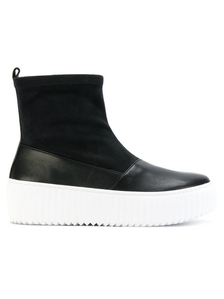 united nude women leather black shoes