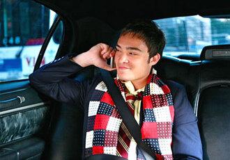chuck bass scarf