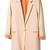 ROMWE | Color Block Apricot Blazer, The Latest Street Fashion