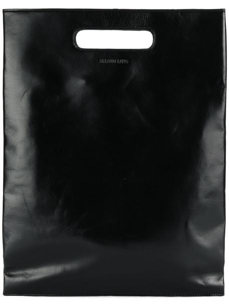 Helmut Lang women bag tote bag leather black