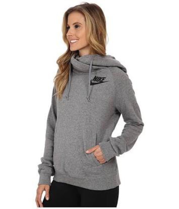 nike rally funnel neck hoodie. Black Bedroom Furniture Sets. Home Design Ideas