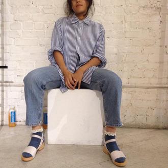 top stripes tumblr tumblr outfit striped shirt