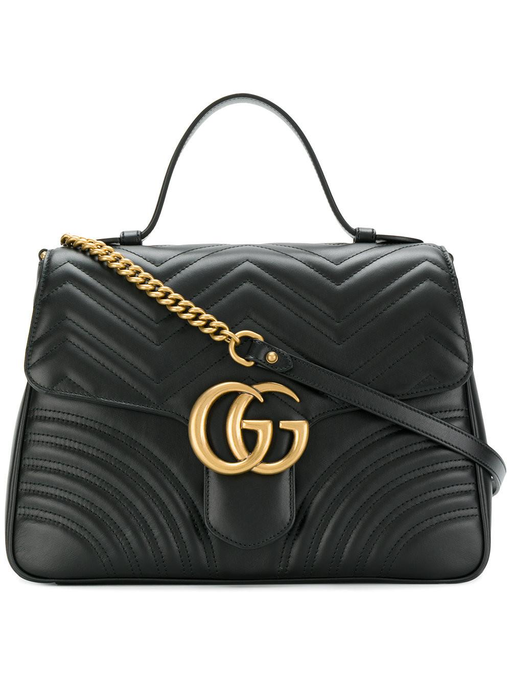Gucci Gg Marmont Matelassé Shoulder Bag | Nudevotion