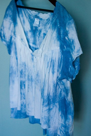 shirt summer tie dye blouse