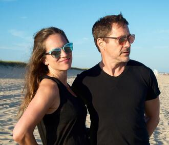 sunglasses teal susan downey