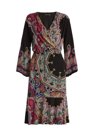 dress print paisley black