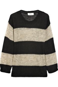 Etoile Isabel Marant|Striped wool-blend sweater|NET-A-PORTER.COM
