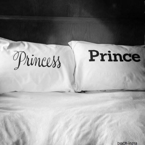 bag bed prince white princess pincess jewels