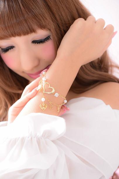 jewels gyaru kawaii lolita harajuku ma*rs bracelets