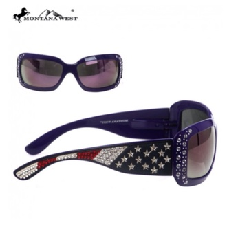 sunglasses american flag rhinestone sunglasses montana west