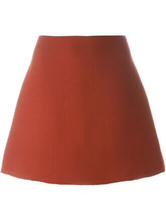skirt mini skirt mini red