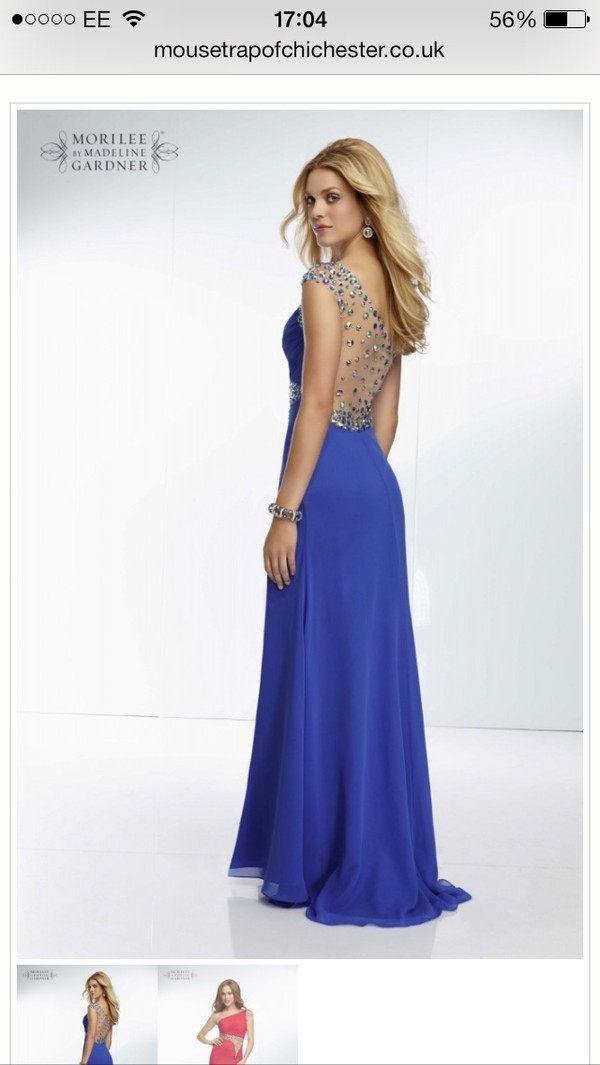 dress prom dress long prom dress gems jewels