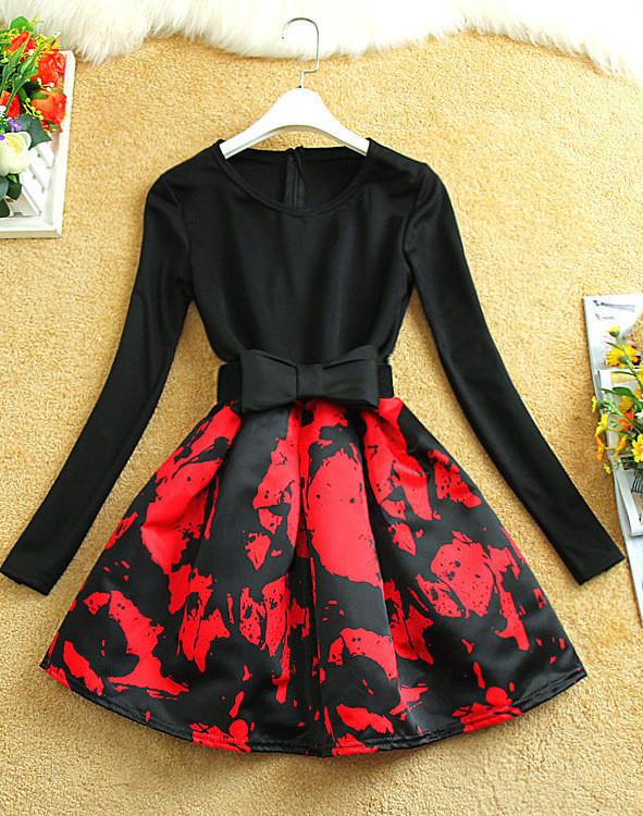 Sleeved dress