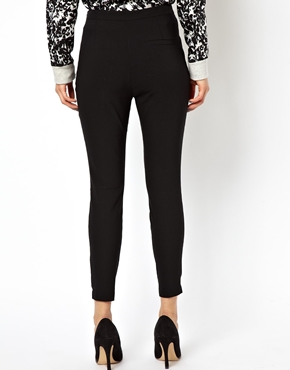 ASOS | ASOS High Waist Skinny Crop Trouser at ASOS