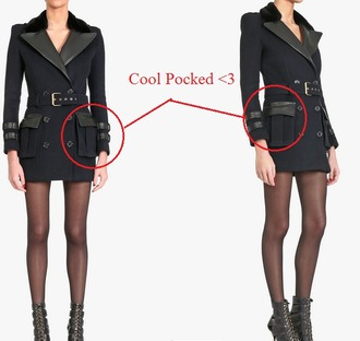 coat style black coat military style trench coat