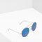 Round mirrored sunglasses - sunglasses for women | mango usa