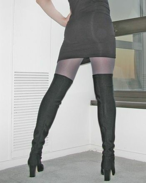 Skin tight pantyhose images