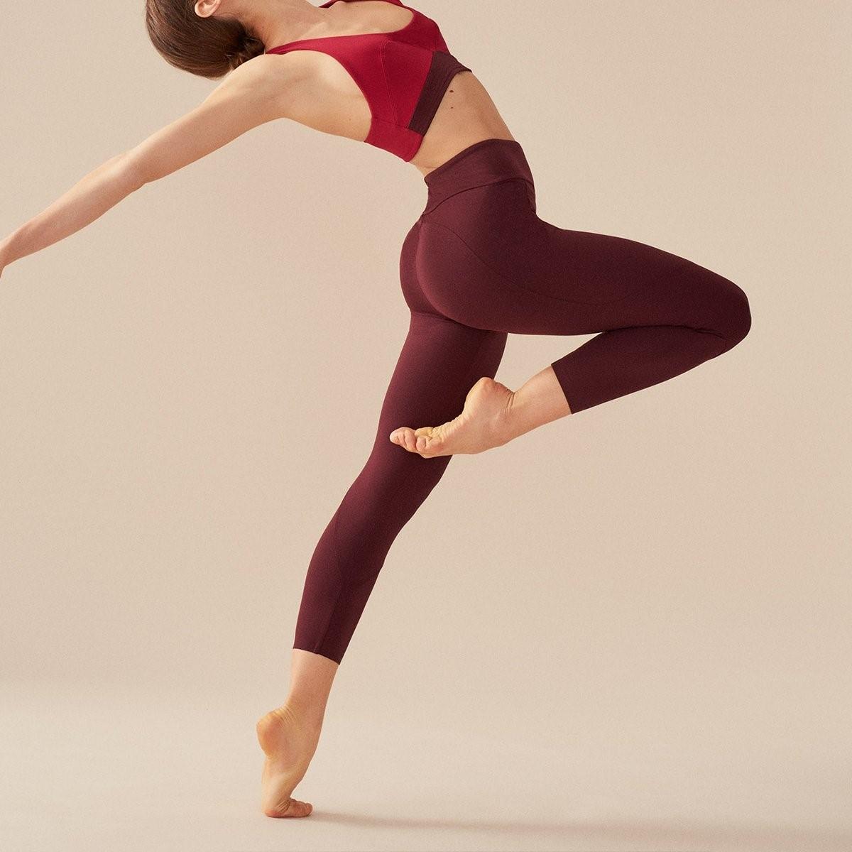 Saskia Legging - Prune