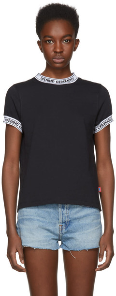 opening ceremony t-shirt shirt t-shirt black top
