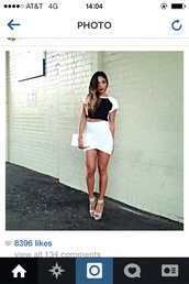 skirt,white pencil skirt,white skirt,fashion,shirt,fashion blogger,asos,topshot,miley cyrus,kylie jenner,pyrex,rachelteetyler