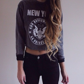 sweater gray cute gray sweater style tumblr outfit