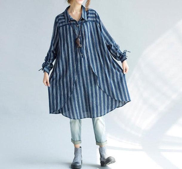 shirt long cotton shirt