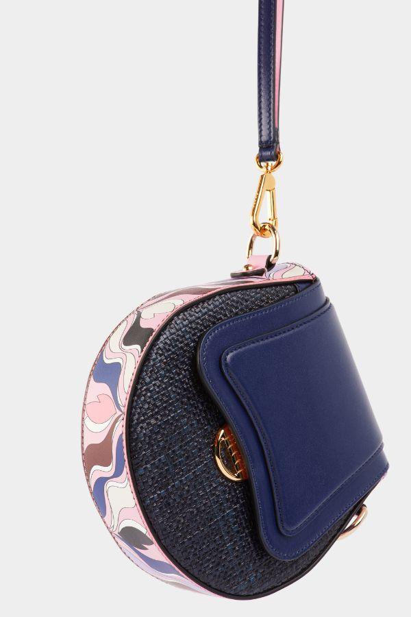 Heliconia Print Dora Mini Crossbody Bag