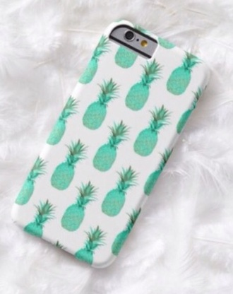 phone case tropical mint mintpineapple iphone6case