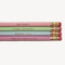 Life is for.. pencil set - miss poppy design