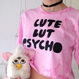 t-shirt violently happy graphic tee graphic crop tops nyct clothing cute but psycho crop tops tie dye