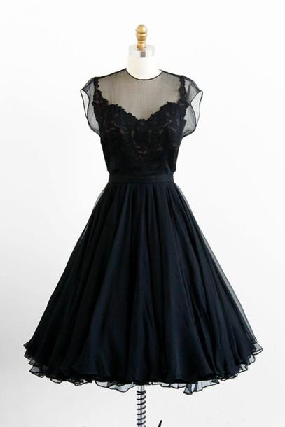 dress vintage little black dress